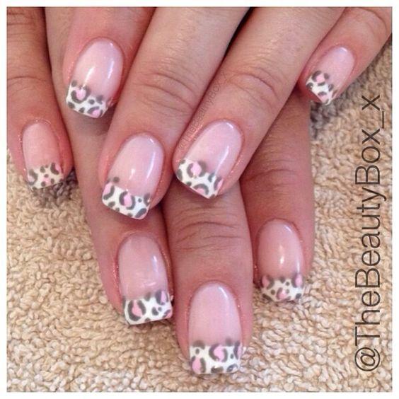 Nail Art ♥ French Nails