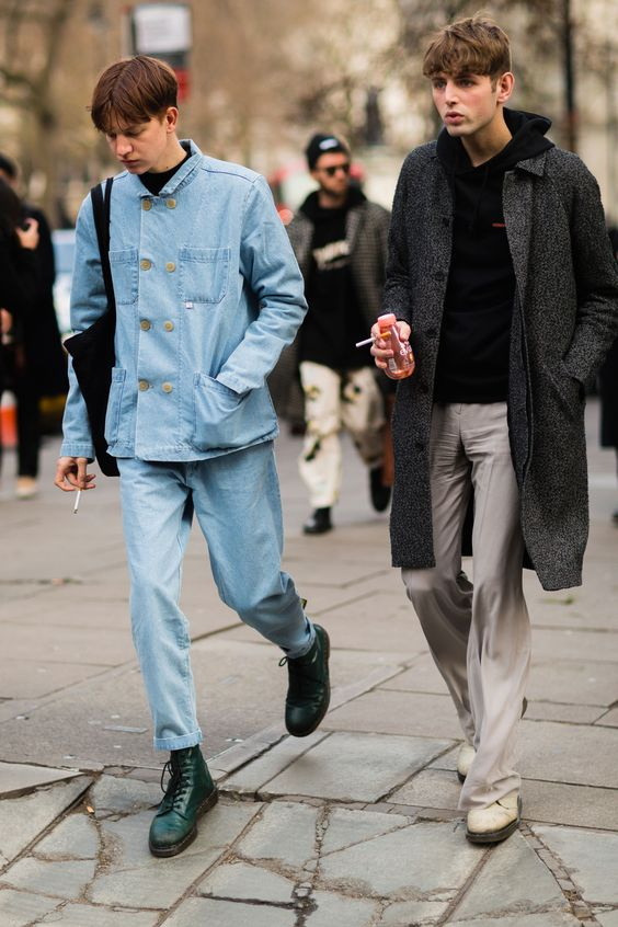 THE BEST STREET STYLE FROM LONDON FASHION WEEK MEN'S Mens Fashion | #MichaelLouis - www.MichaelLouis.com
