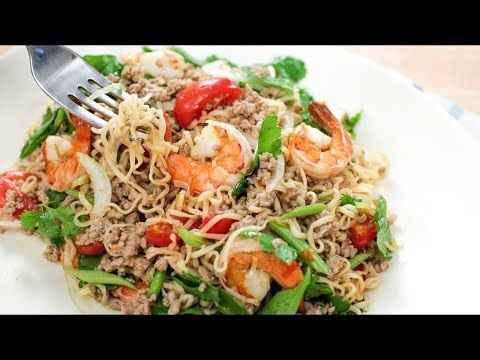 Youtube hot thai kitchen pailin pinterest ramen noodle salad recipes youtube thai food forumfinder