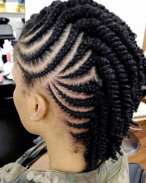22 Side Braid Styles For Natural Hair Women Natural Hair Salons