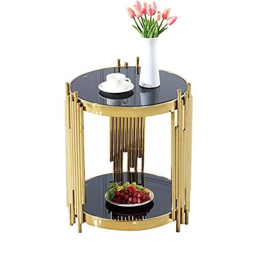 Yd Tables Metal Round Table Modern Round Gold Plated Sofa Small Round Table Stainless Round Coffee Table Modern Gold Coffee Table Round Side Table Living Room