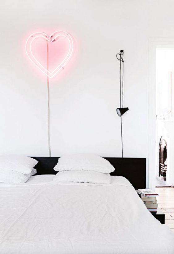 Zwarte details slaapkamer