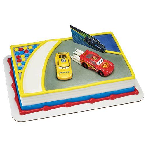 Pleasant Disney Cars 3 Licensed Cake From Ralphs Bakery Kroger Lightning Personalised Birthday Cards Arneslily Jamesorg
