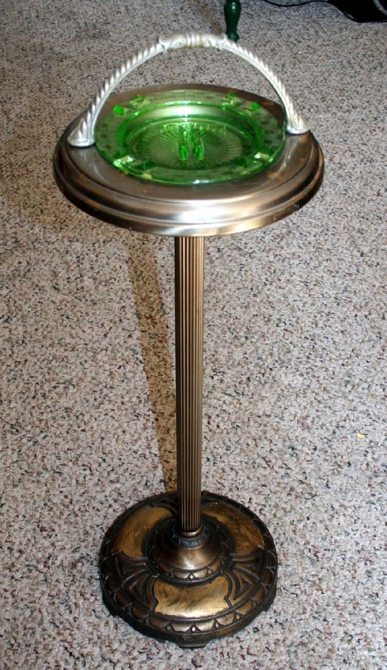 Old Fashioned Ashtray Stand