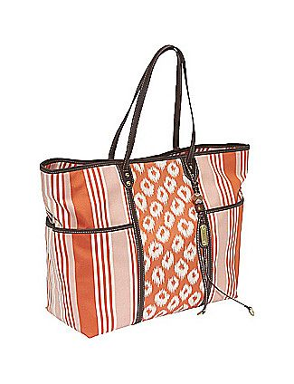 A fabulous patterned tote - perfect for all of your beach excursions!