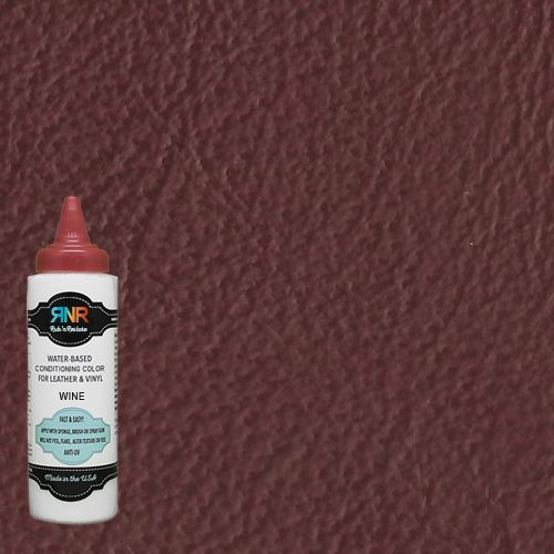 Red Wine Leather Furniture Finish Vinyl Dye By Rub N Restore In 2020 Leather Restoration Leather Furniture Furniture Finishes