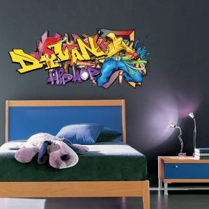 Hip hop stickers and tags on pinterest - Tag pour chambre ado ...