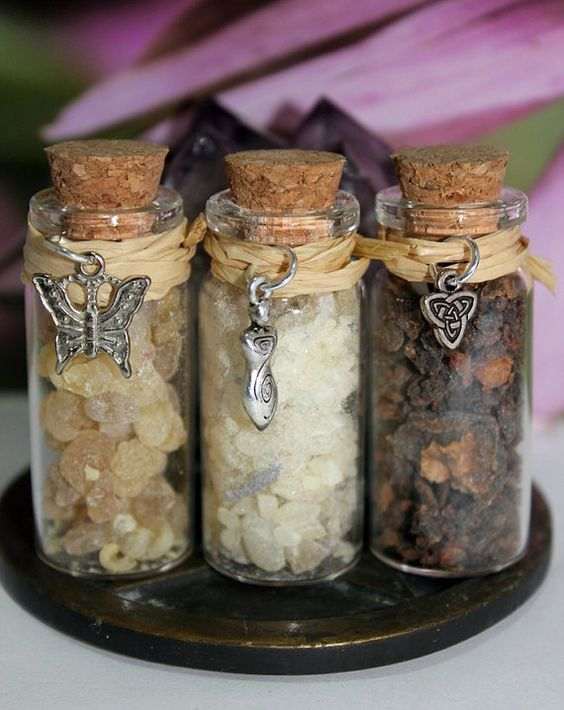 Pagan, Wicca, Witchcraft, Old World Magic, Herbal Alchemy, Magical Apothecary, Metaphysical Incense, Resins, Frankincense, Myrrh, Copal to be used for Meditation and Ritual to connect with Goddess