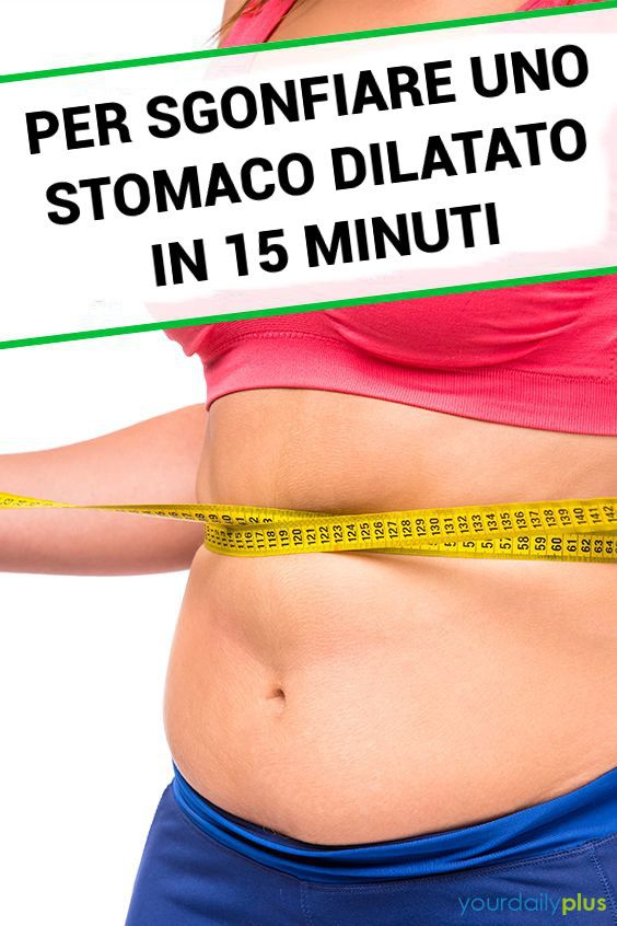 come perdere peso dal mio stomaco