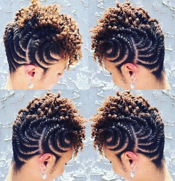 Amazing Natural Hair Twisting Styles The Most Recent Beautiful And Nice Styles For Natural Hair Hair Twist Styles Natural Hair Twists Cornrow Hairstyles
