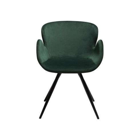 Fantastic Dan Form Gaia Dining Chair Emerald Green Velvet Green Caraccident5 Cool Chair Designs And Ideas Caraccident5Info