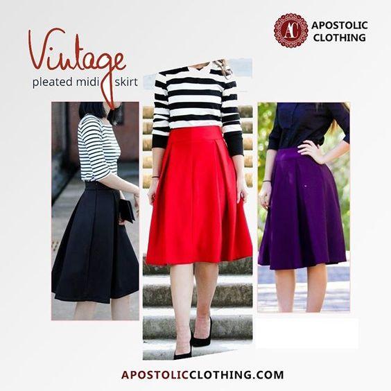 Modest Women Skirts