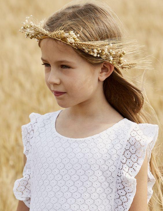 tuto kids: Une couronne d'épis de blé - Marie Claire Idées