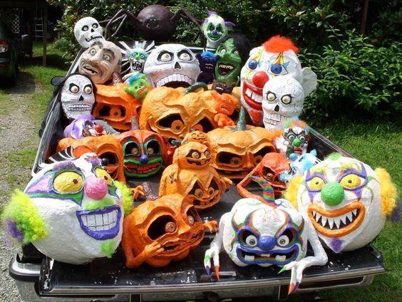 Halloween Joy Riders cool car ideas halloween decorations masks