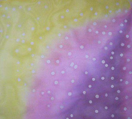 Aula Pingos - Avançado  [C-224]R$5.00      Clique para ampliar e ver mais fotos  Curso de Pintura em Seda  Aprenda como fazer bolinhas no tecido.