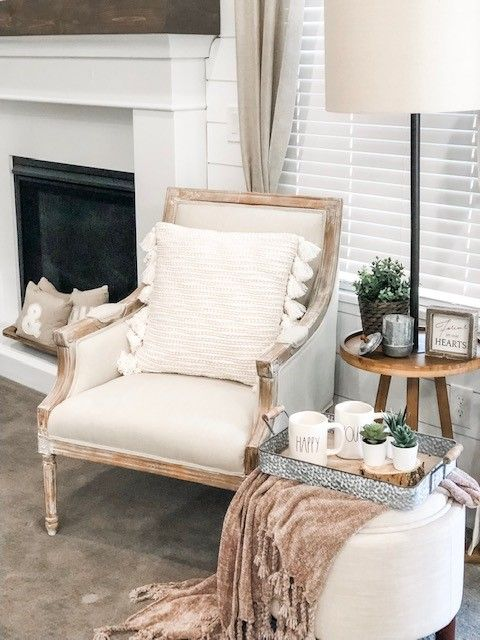 Thanks For The Summer Modern Farmhouse Decor Inspiration City Girl Meets Farm Boy Farmhouse Decor Living Room Farm House Living Room Farmhouse Accent Chair