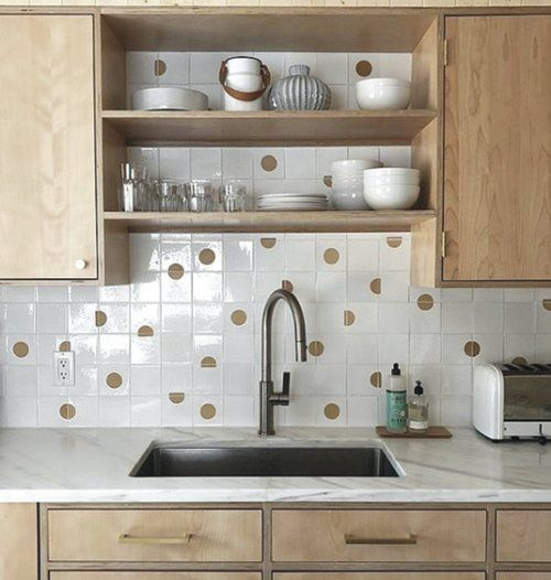 Mid Century Back Splash In 2020 Kitchen Remodel Small Kitchen Cabinets Kitchen Design