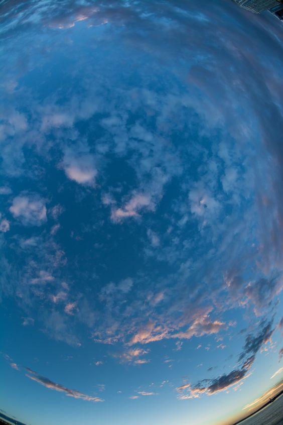 Clouds circular dance  #Punta del Este - Uruguay by Sebastian Ferrari on 500px