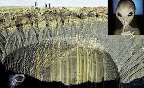 Rússia: Mais Crateras Misteriosas Encontradas, Testemunhas Relatam Brilhantes Luzes no Local
