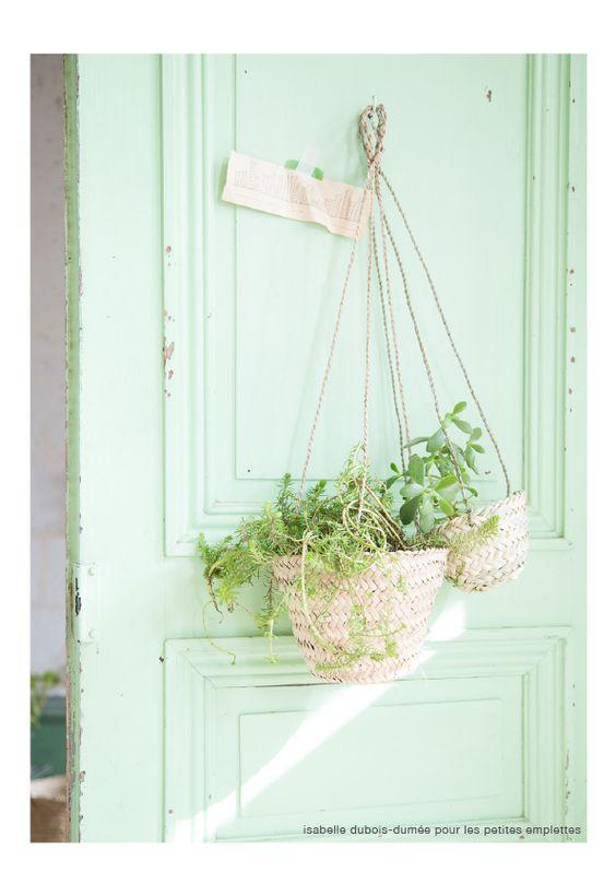 1000 id es sur le th me paniers de fleurs suspendus sur pinterest paniers - Les petites emplettes ...