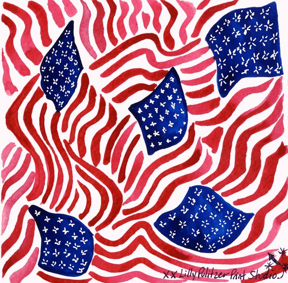 Show your stripes #TeamUSA #lilly5x5: