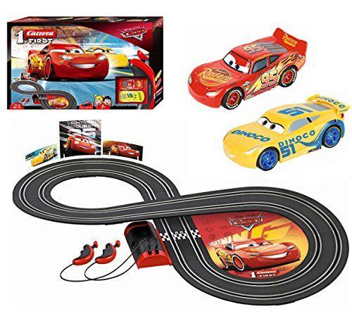 Carrera First Disney Pixar Cars 3 Slot Car Race Track Https Www Dp B071lm3stg Ref Cm Disney Pixar Cars Slot Car Race Track Slot Car Racing