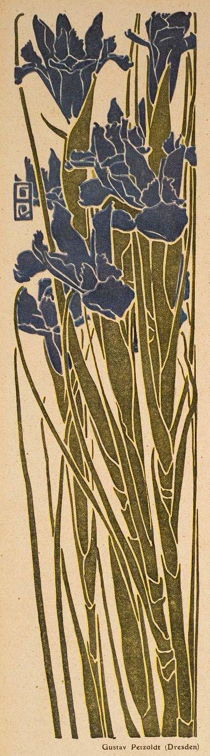 Gustav Petzoldt. Jugend magazine, 1910.