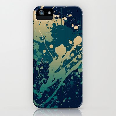 Splashs XI iPhone & iPod Case by Rain Carnival - $35.00 #iphone #samsung #mobile #case #skin #splash #colorful #summer