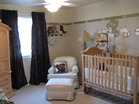 Teddy Bear Nursery Babys Nursery With A Teddy Bear Theme