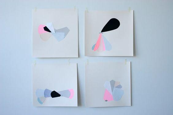Essimar :: Collage & Paper art