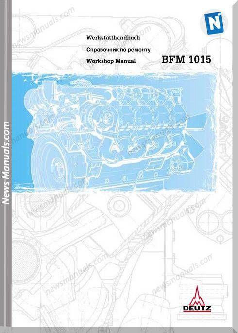 Deutz Bfm 1015 Workshop Manual Workshop Manual Electrical Diagram