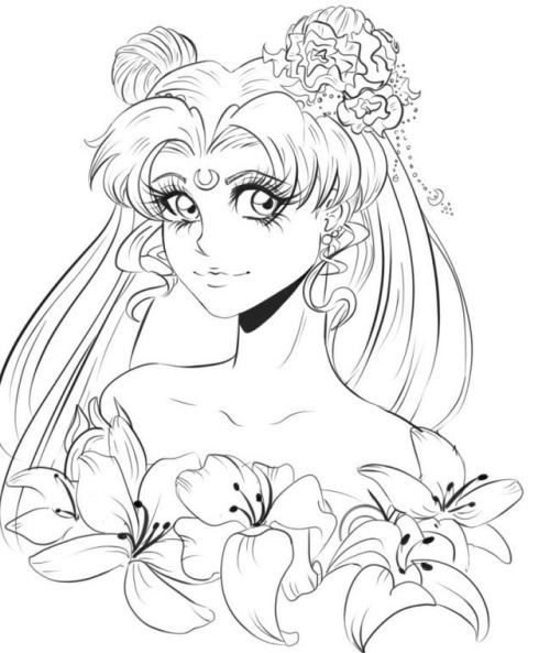 Saedunkai Sailor Moon Wip Sailor Moon Coloring Pages Sailor Moon Manga Sailor Moon
