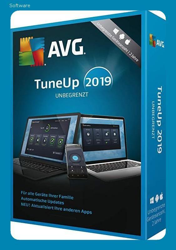 Avg Tuneup 2019 Unbegrenzt 2 Jahre 2019 Unbegrenzt 2 Jahre 24 Monate Laptop Tablet Handy Download Download Mit Bildern Handy Tablet Apps