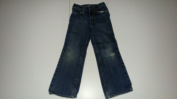 Children's Boot Cut Size 6 Old Navy 5 Pocket Classic Blue Jeans #OldNavy…