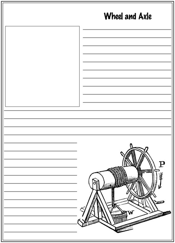 simple machine coloring pages - photo#21