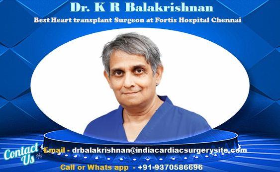Dr. K R Balakrishnan Top  Cardiologist in India