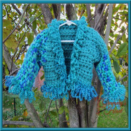 Chill Chasing Bolero: Free to You Pattern @ Designs from Grammy's Heart