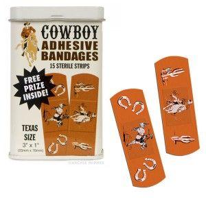 Cowboy band aids!!