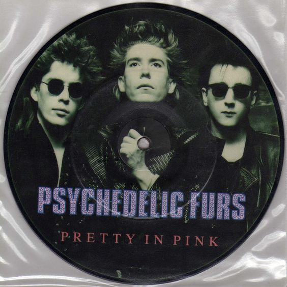 Psychedelic Furs – Pretty in Pink (single cover art)