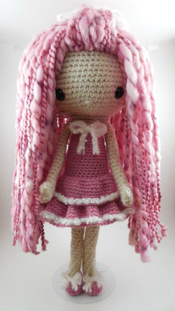 Amigurumi Hair Patterns : Amigurumi doll, Crochet patterns and Amigurumi on Pinterest