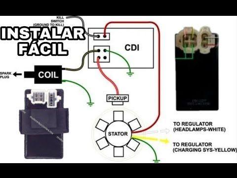 Como Conectar Cdi Alterno Y Directo En Tu Motocicleta Motoneta Youtube Mecanica De Motos Curso De Mecanica Automotriz Mecanico De Autos