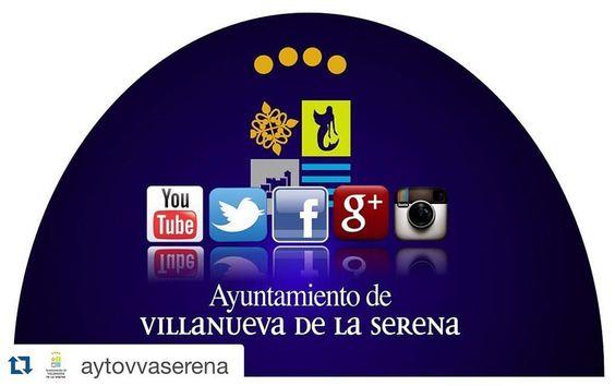 #Repost @aytovvaserena  El Ayuntamiento de Villanueva de la Serena en las #RedesSociales Síguenos! bit.ly/RRSSAytoVva