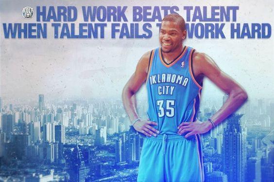 Hard Work Never Fails Quotes: Hard Work Beats Talent Wen Talent Fails To Work Hard