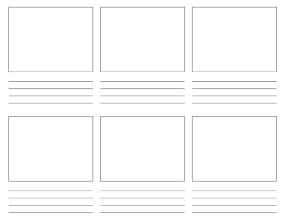 Best  Storyboard Pdf Ideas On   Storyboard Template