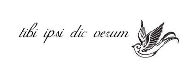 latin for to thine own self be true