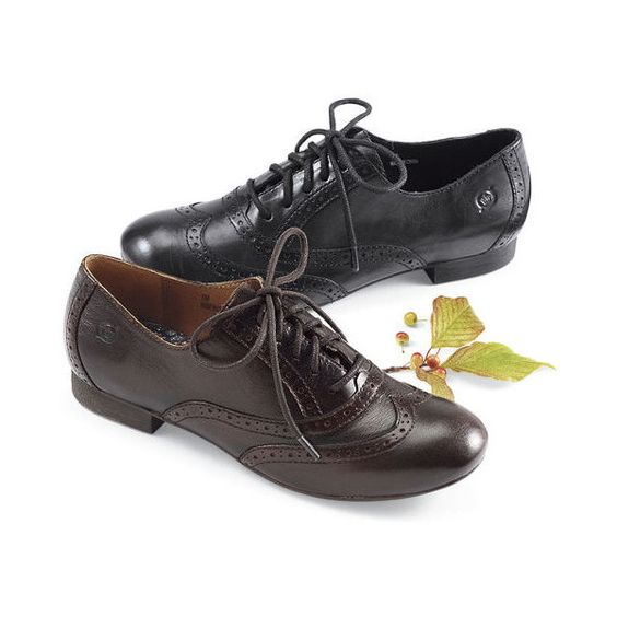 Born Leather Oxfords By Born Size 9 Black ($89) ❤ liked on Polyvore featuring shoes, oxfords, black, genuine leather shoes, leather shoes, born oxfords, black leather shoes and leather oxford shoes