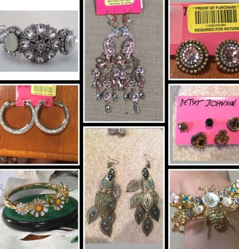 NWT-Betsey-Johnson-Bundle-Of-Jewelry