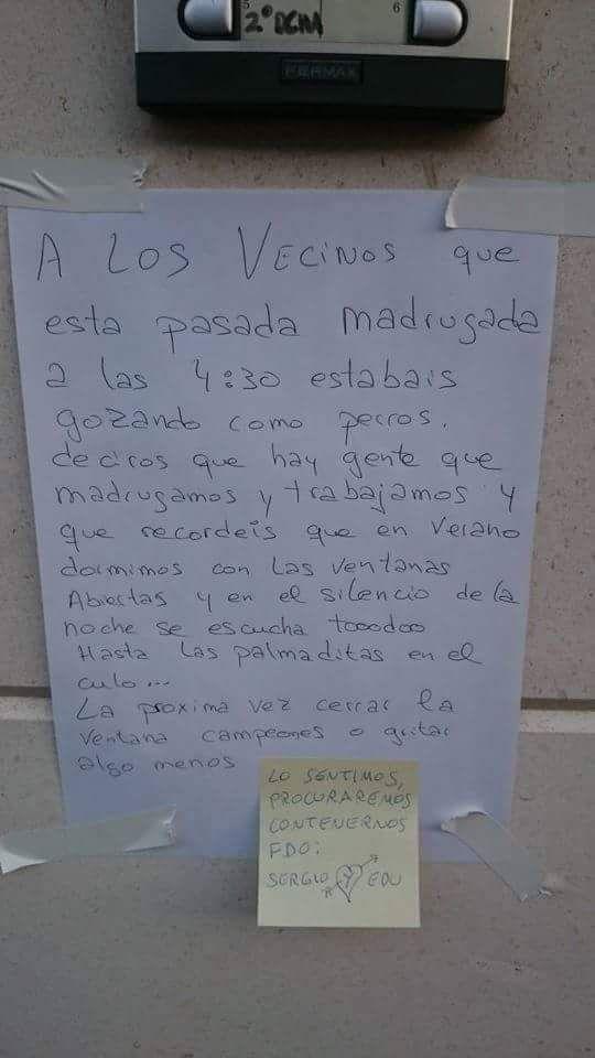 La culpa fue del chachacha, que diga, de estas pésimas construcciones que hemos tenido en España estos últimos años