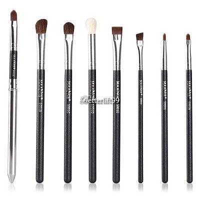 Eye Brushes Set 8PCS Eyeliner Eyeshading Blending Pencil brow Brush Makeup Tools - EXCLUSIVE DEAL! BUY NOW ONLY $4.31