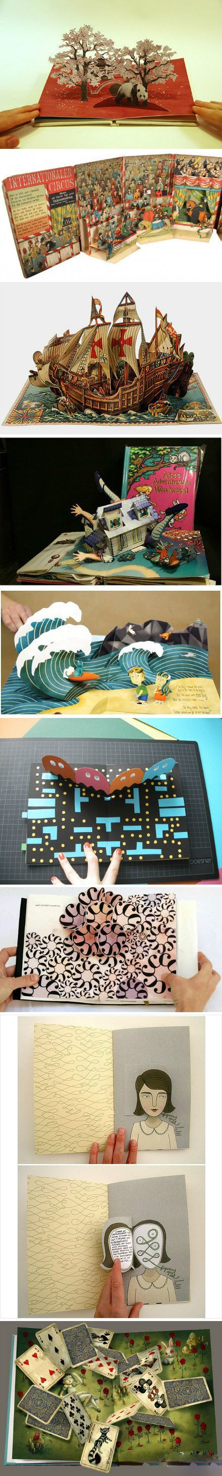 More interesting items in paper sculpting!